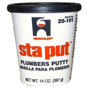 Oatey 25101 Hercules Sta Put 14-Ounce Plumbers Putty Size
