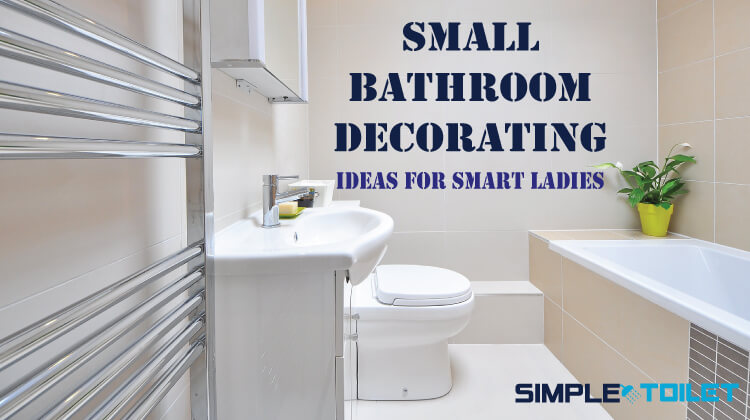 Easy Bathroom Decorating Ideas: Small Bathroom Decorating Ideas For Smart Ladies In 2018