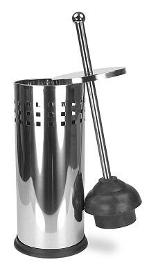 Home Basics TB41170 Stainless steel Toilet Plunger