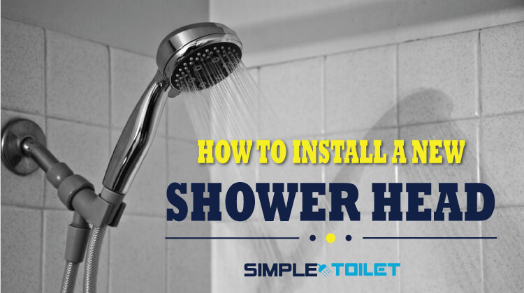 How To Install A New Shower Head