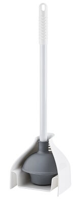Libman 0598004 Premium Toilet Plunger and Caddy