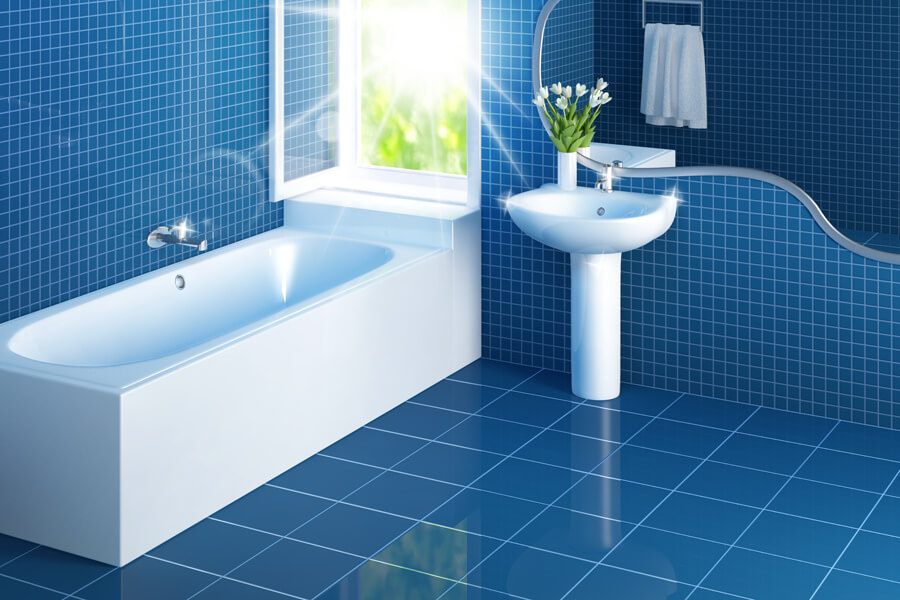 Natural Bathroom Tiles Cleaning Solution Simple Toilet - Natural bathroom tile cleaner
