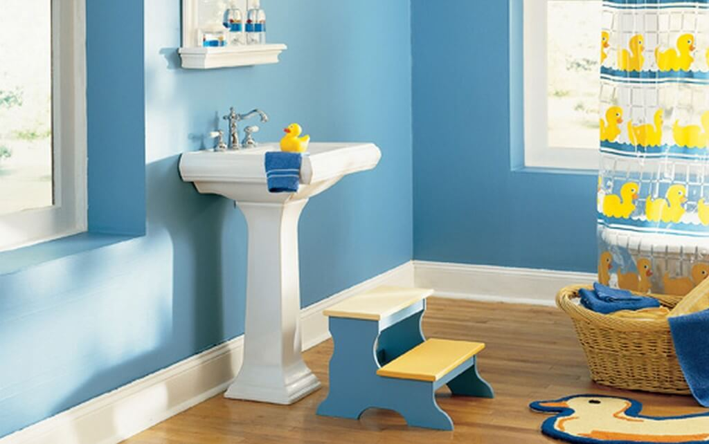 How To Choose The Best Paint For Bathroom Walls 2018 | Simple Toilet
