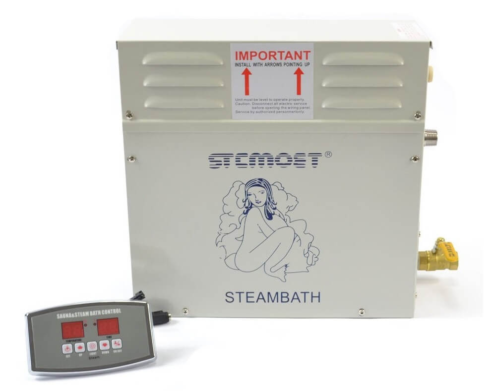 6kw 220v Steam Generator Sauna Bath Steamer