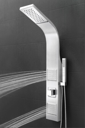 akdy 39u201d wall mount easy connection shower tower panel - Shower Tower