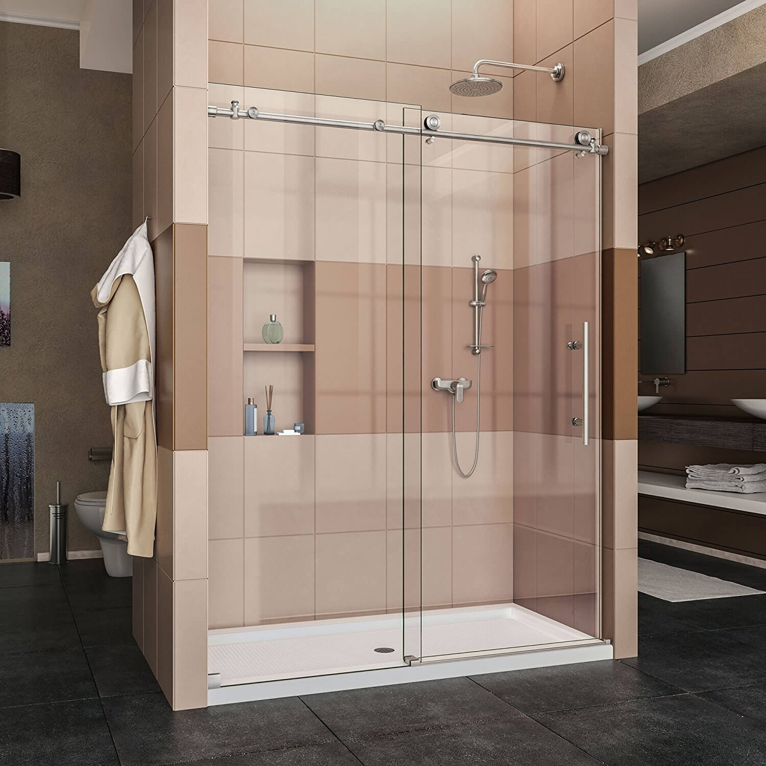 Best Sliding Shower Doors 2019 Simple Toilet