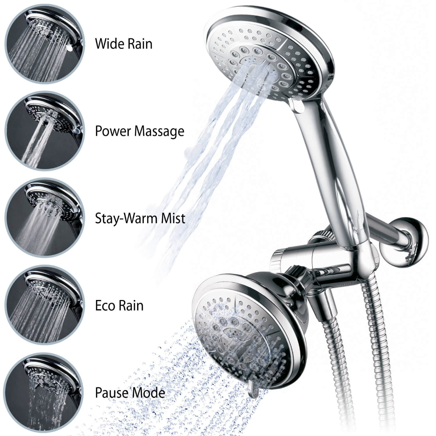 Best Handheld Shower Head Reviews Guide 2019 Simple Toilet