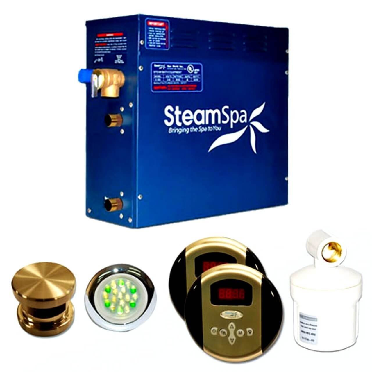 Steam Spa RY900BNC Royal Complete Package with 9kW Steam Generator