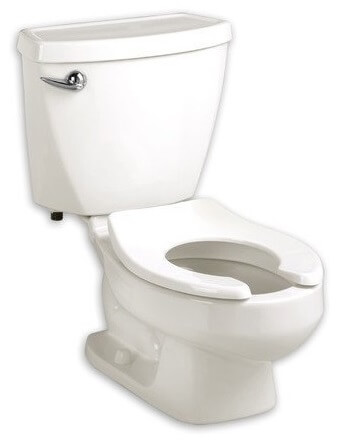 American Standard 2315.228.020 Baby Devoro Flowise 10-Inch High Round Front Toilet, White