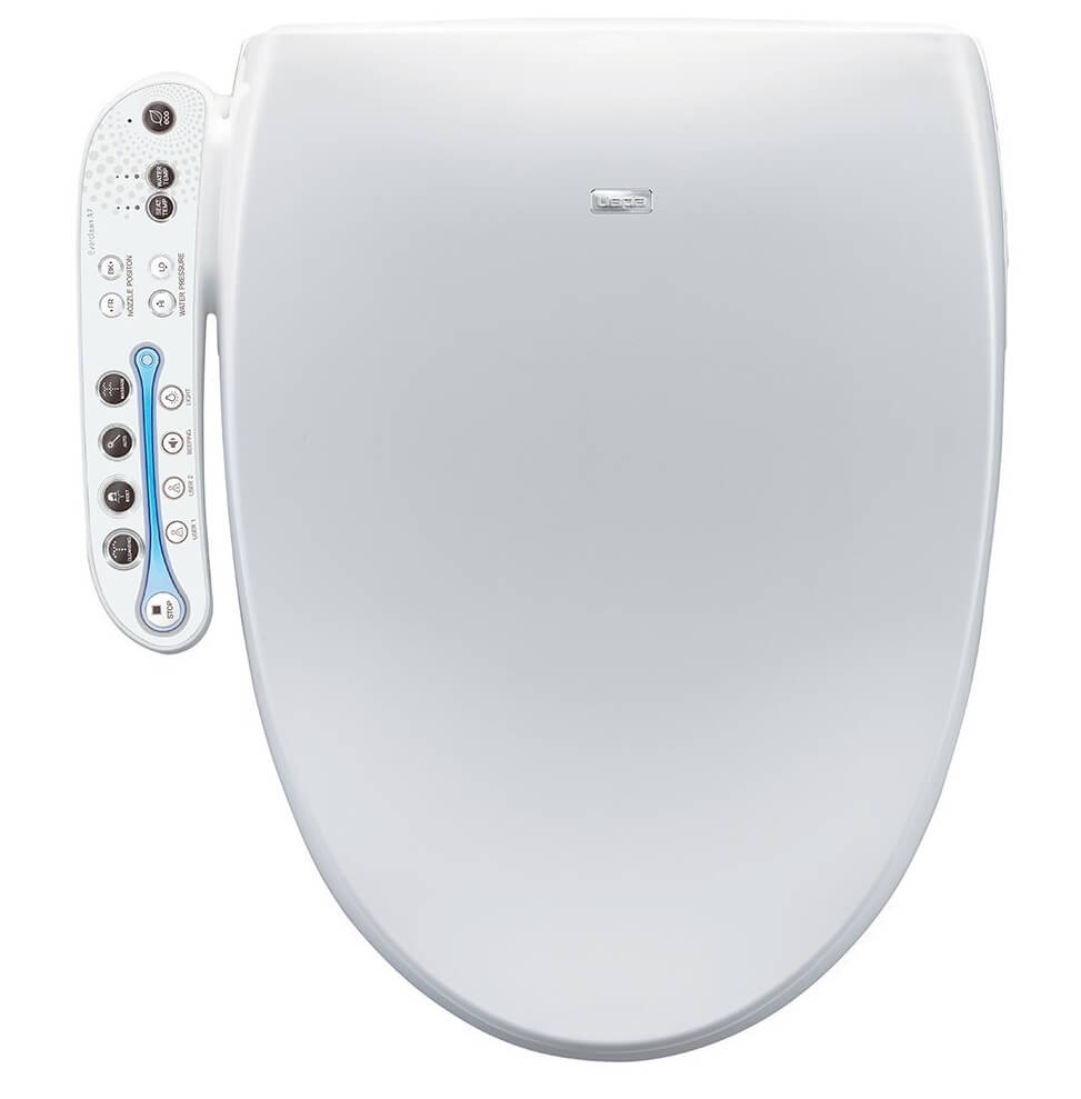 BioBidet Aura A7 Intelligent Bidet Toilet Seat Elongated White