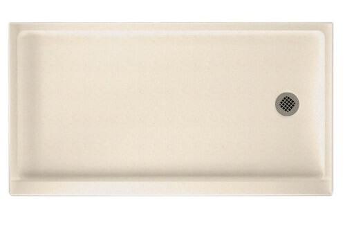 Swanstone SR-3260R-010 60-Inch by 32-Inch by 5-12-Inch Single Threshold Shower Floor