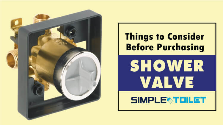 best Shower valve buying guide