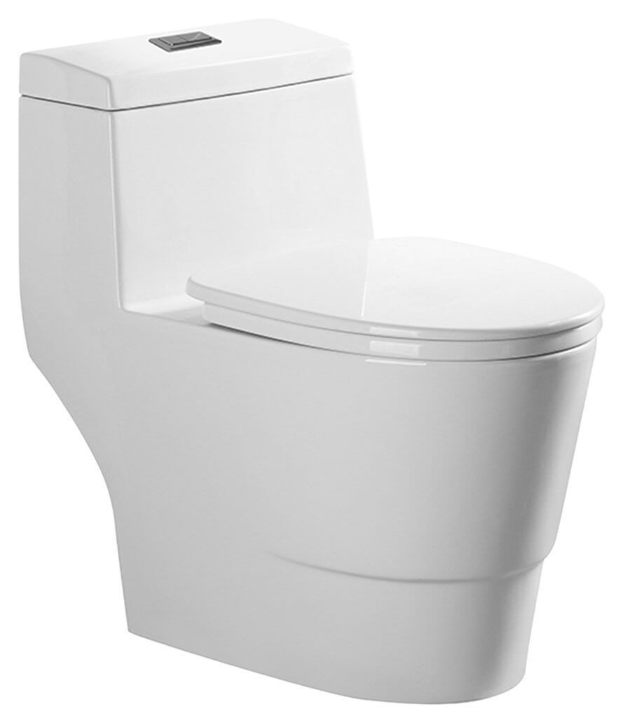 Best toilet on the market reviews - Woodbridgebath T 0005 Dual Flush Elongated One Piece Toilet