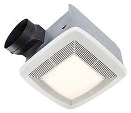 Broan QTXE110FLT Fluorescent Light Ultra Silent Bath Fan and Light, 110 CFM 42 Watt