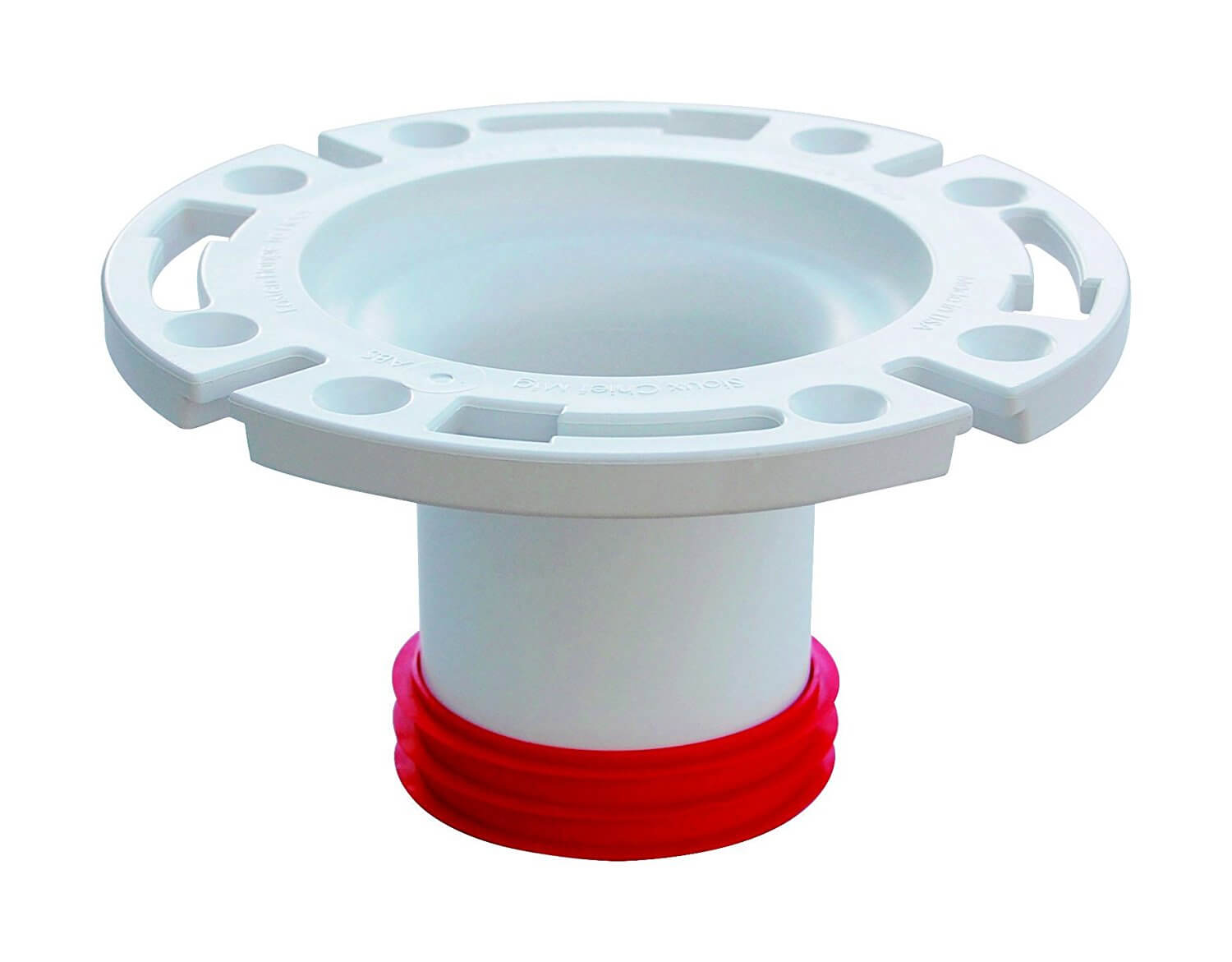 "CLOSET FLANGE PUSH PVC3"" by SIOUX CHIEF MfrPartNo 888-GPM"
