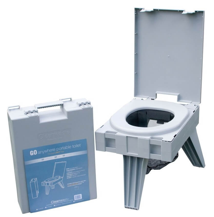 Cleanwaste Go Anywhere Portable Toilet