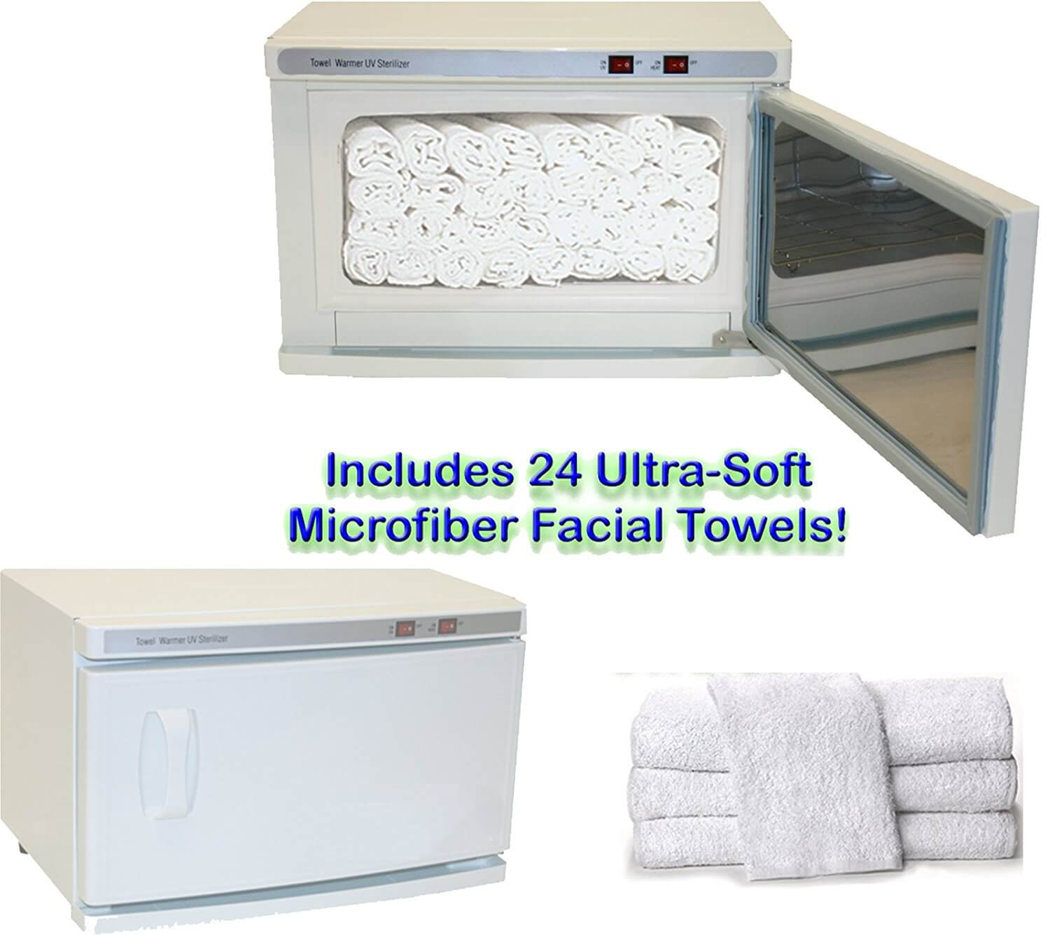 High Capacity Hot Towel & UV Sterilizer Cabinet