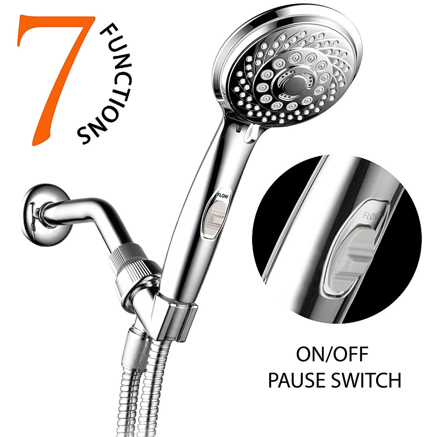 dp filter filtration spray saving held hand function showerheads mode heads water head high nosame handheld ionic shower pressure