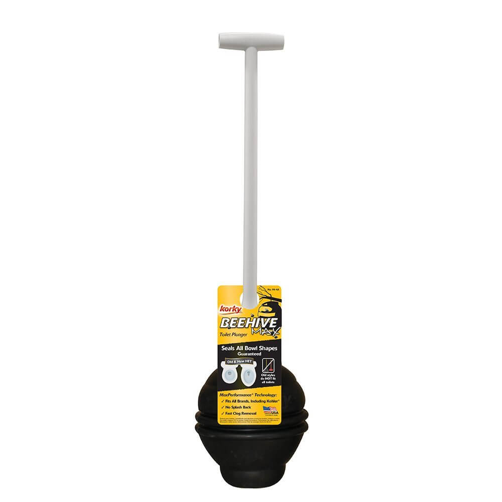 Korky 99-4A Beehive Max Universal Toilet Plunger