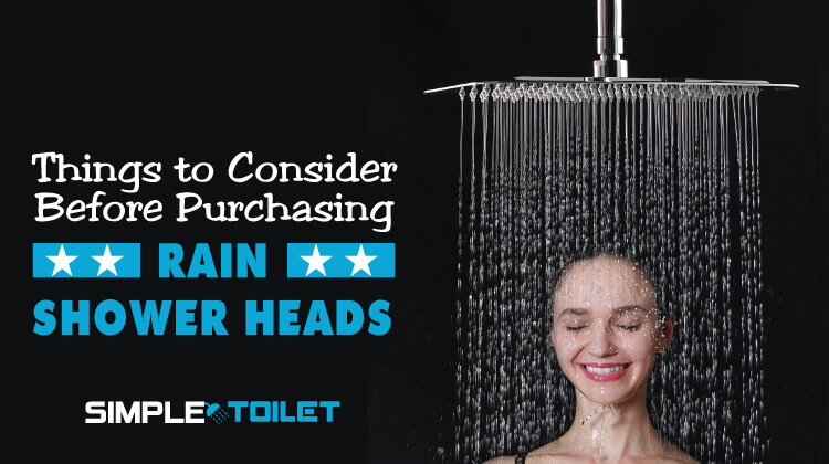 Rain Shower Head Buying Guide
