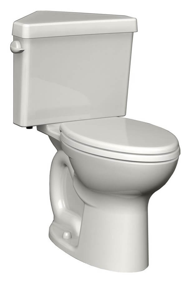 American Standard 270AD001.020 Cadet 3 Right Height Elongated Two-Piece Triangle Toilet