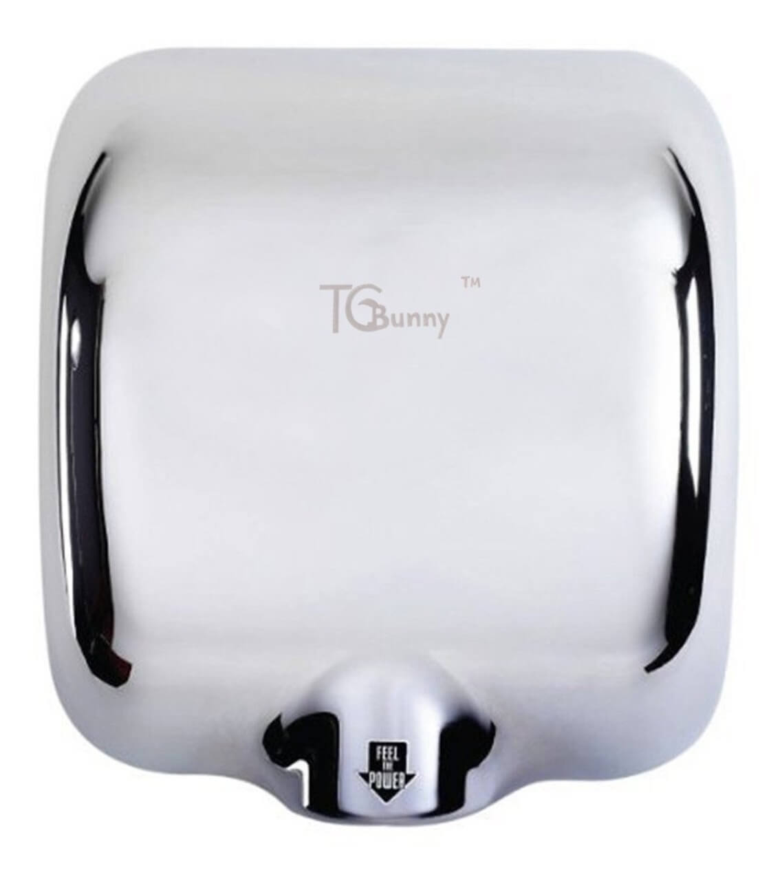 TCBunny (1 Pack) Heavy Duty 1800 Watts High Speed 90m/s Automatic Hot Commercial Hand Dryer