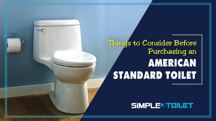 Things to Consider Before Purchasing the Best American Standard Toilet