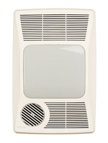 Broan 100HL Directionally-Adjustable Bath Fan with Heater