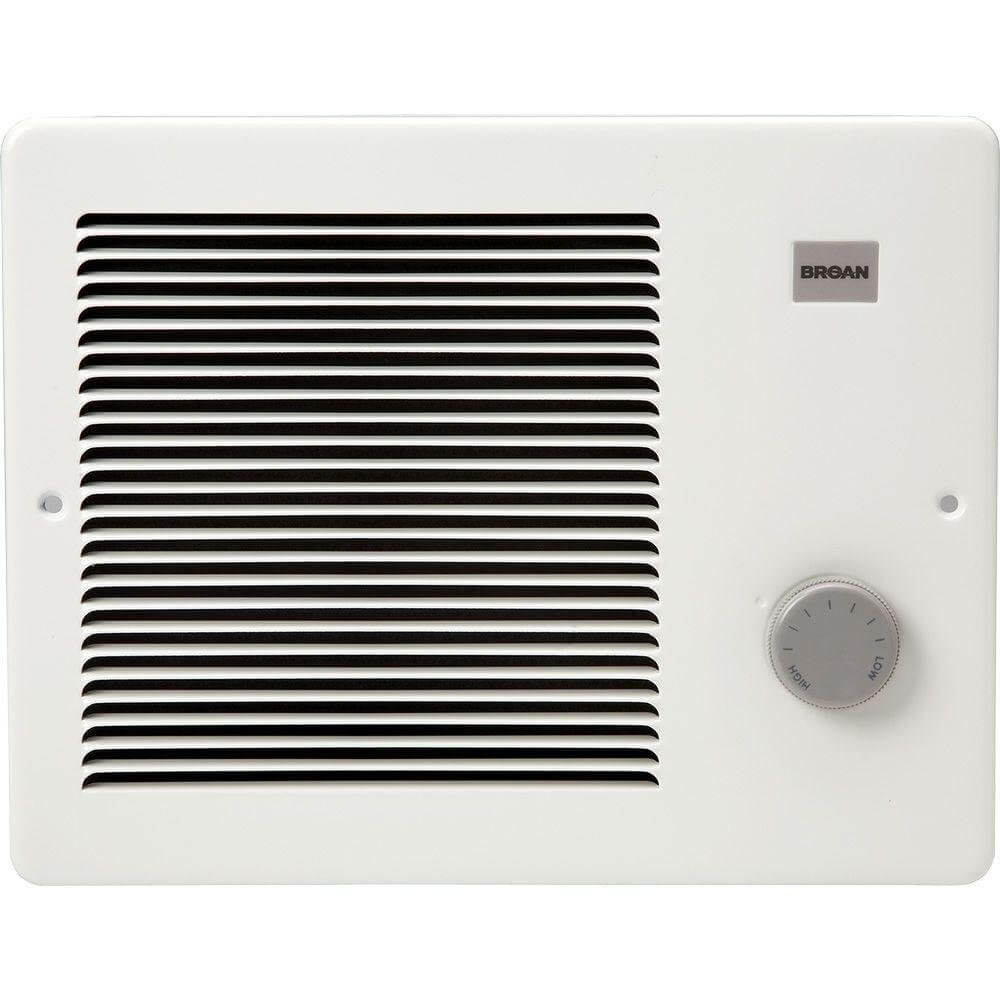 Broan 174 Wall Heater 750 1500 Watt 120 VAC White Painted Grille