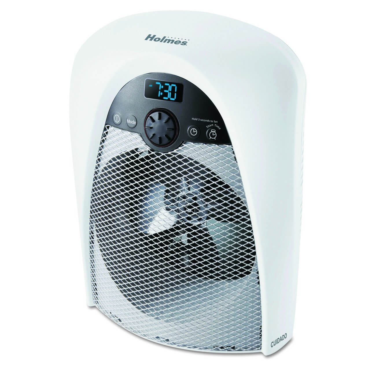 Holmes Digital Bathroom Heater Fan With Pre Heat Timer And Max Output