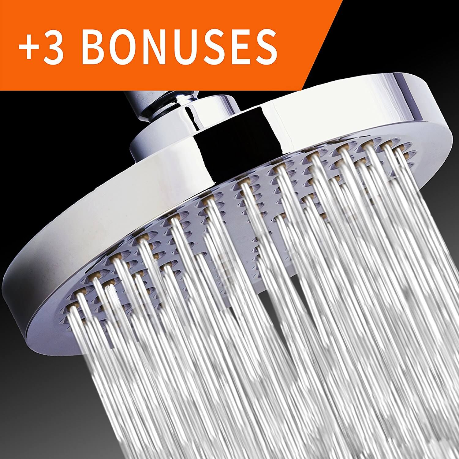 nickbarronco 100 High Flow Rain Shower Head Images