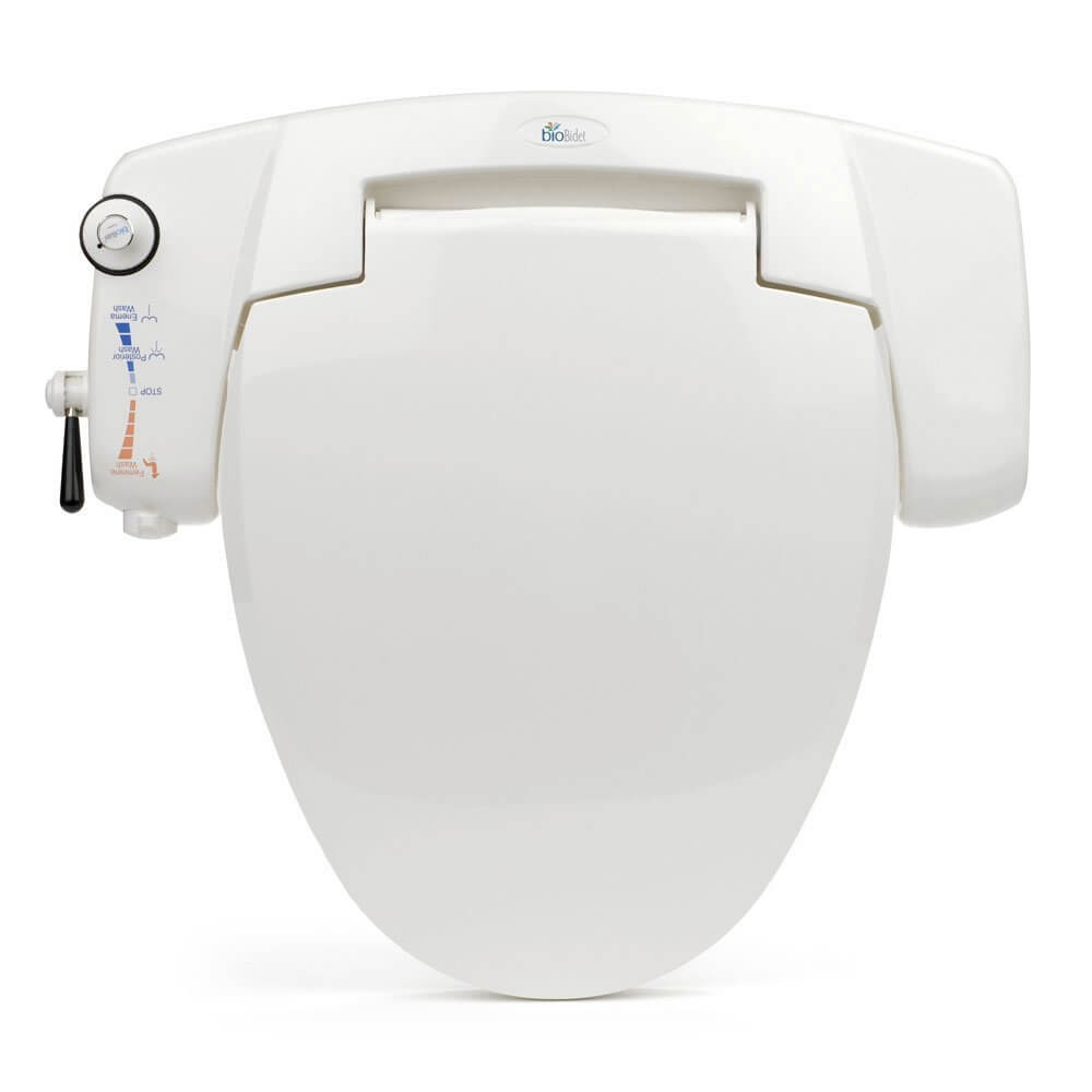 BB-I3000 BioBidet Premium Non-electric Bidet Seat for Elongated Toilets