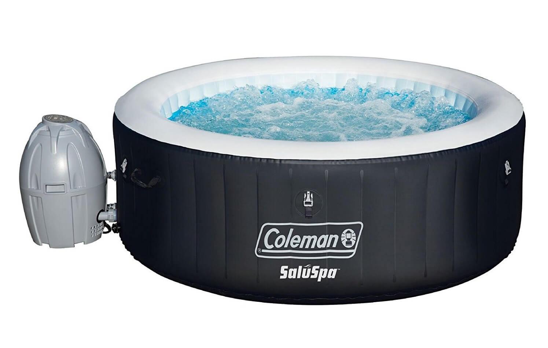 Coleman SaluSpa 4-Person Portable Inflatable Outdoor Spa Hot Tub