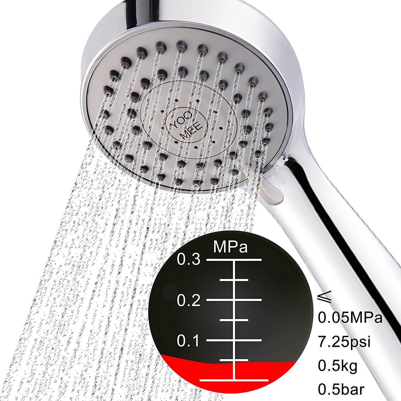 YOO.MEE High Pressure Handheld Shower Head with Powerful Shower Spray