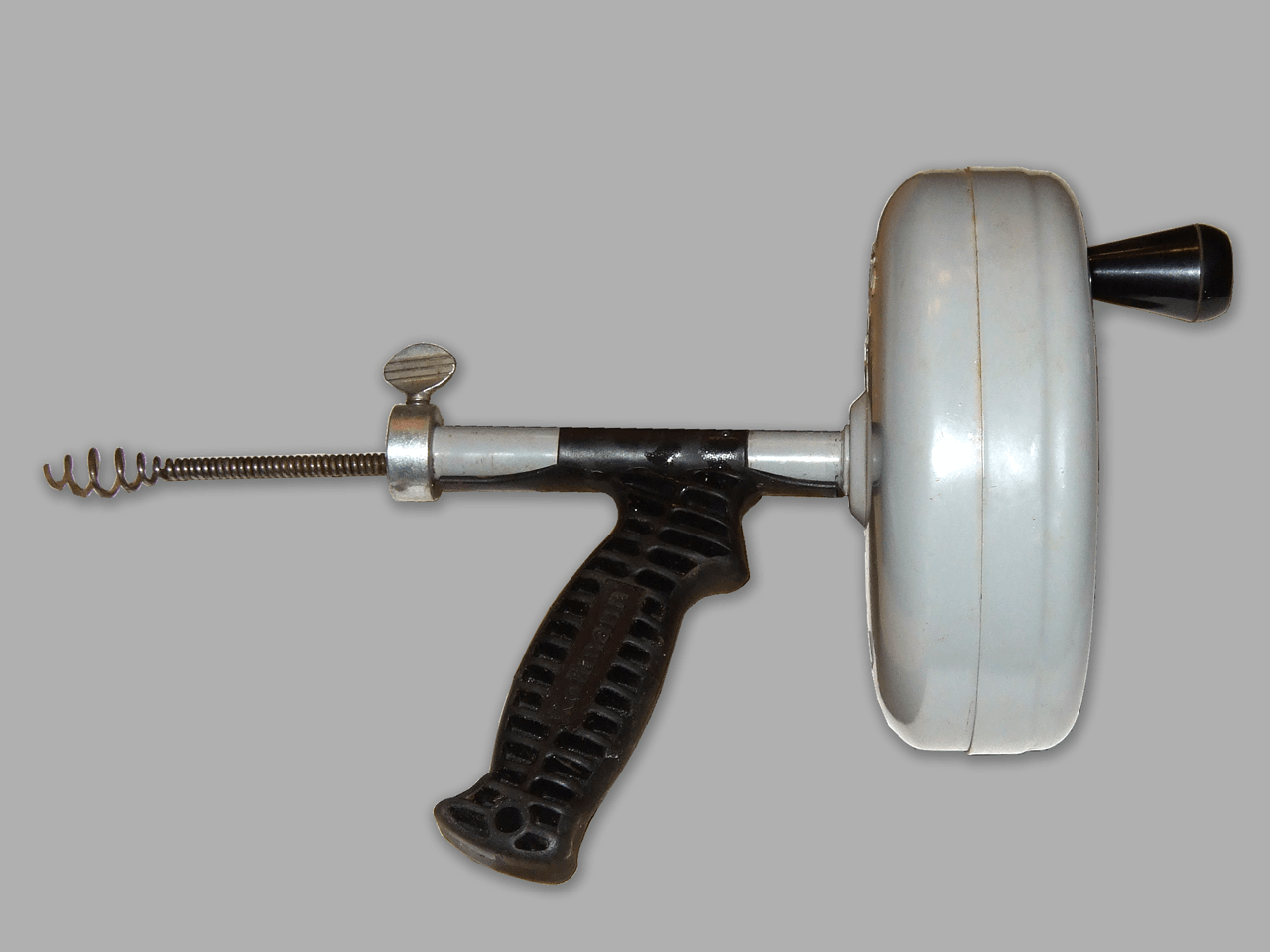 Handheld Drain Auger Toilet Snake Used for Toilet Unclogging