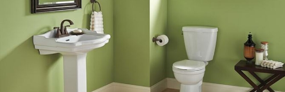 corner toilet for your powder room