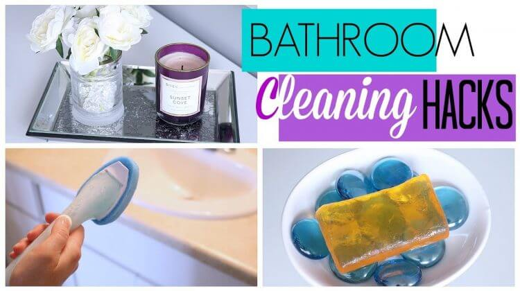 Bathroom Cleaning Hacks