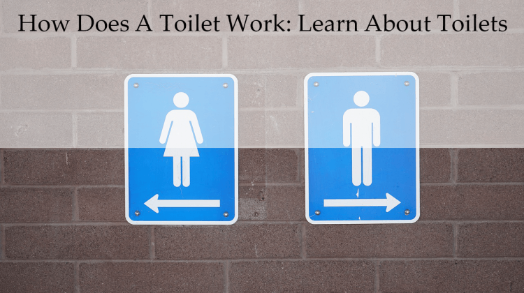 how does a toilet work