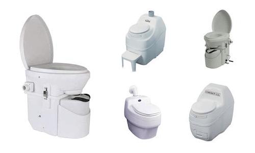 5 waterless toilets