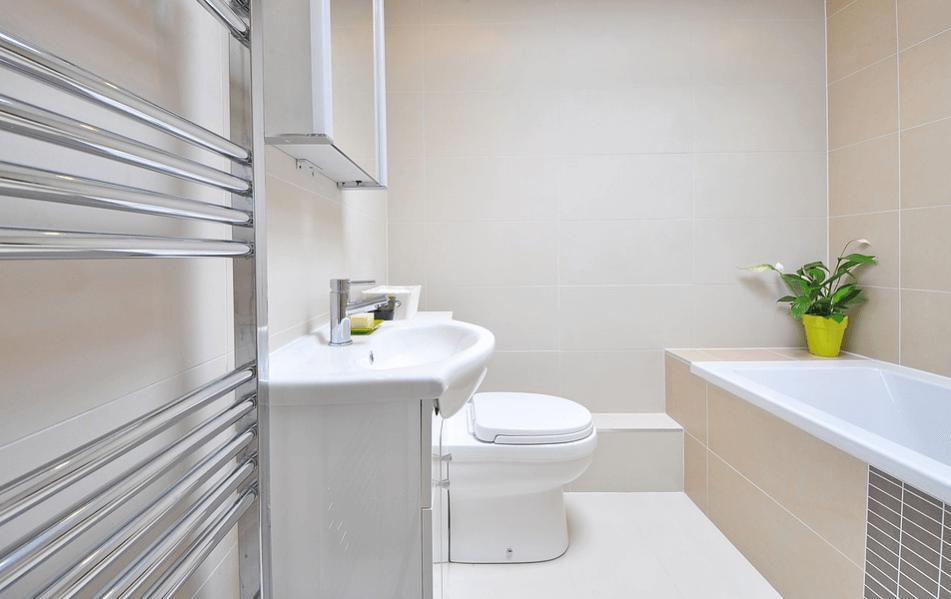 modern toilet bowl