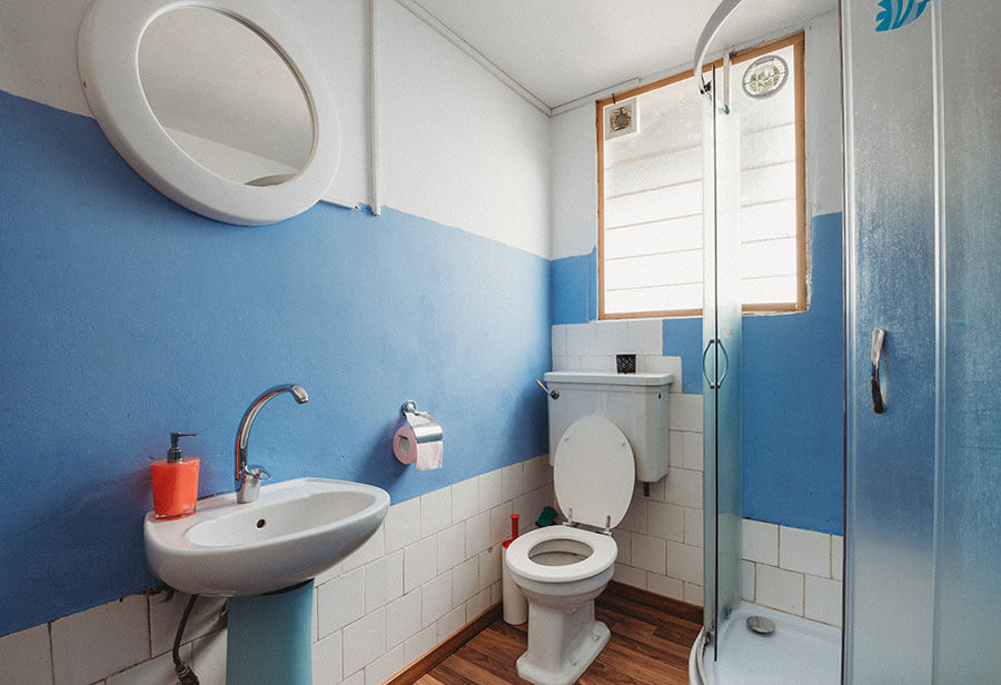 Photo of a bathroom