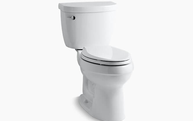 The Kohler Cimarron toilet